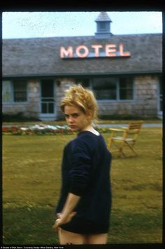 Sue Lyon on the set of Lolita directed by Stanley Kubrick, 1962. Photo by Bert Stern