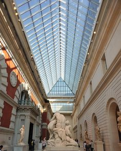 Interior of the Metropolitan Museum of Art , NY