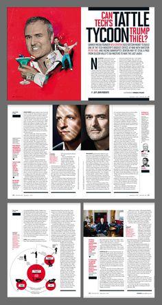 Fortune USA September 1 2016 #editorial #magazine #design