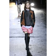 The perfect brown and black leather jacket   3.1 Phillip Lim RTW Fall 2013   Dream Till Green Dream Clothes