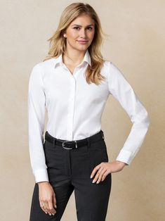 Chemisier femme stretch Layered Ruffle manches longues travail bureau top Shirts Taille