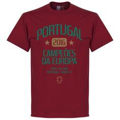 Portugal EURO 2016 Winners T-Shirt - XL
