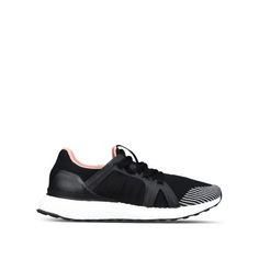 Black Ultra Boost Running Shoes - Adidas By Stella Mccartney Official Online Store - FW 2016 - 2017