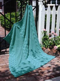 Creative Knitting with Barb: Summer Garden Coverlet