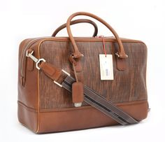 New BRIONI Woven Brandy Calf Leather Duffle Bag Travel Carryall Weekender NWT! - Backpacks, Bags, & Briefcases | http://www.frieschskys.com/bags  |  #frieschskys #mensfashion #fashion #mensstyle #style #moda #menswear #dapper #stylish #MadeInItaly #designer #ootd #leather #bags