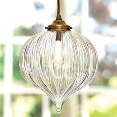 One of our most popular #glass #pendants. It makes an #elegant addition to your home.