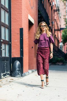 The Street Report: New York Fashion Week - Olivia Palermo - September 2016…