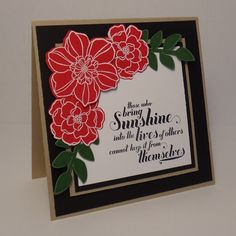 CTD234: Those Who Bring Sunshine by wiebergs - Cards and Paper Crafts at Splitcoaststampers