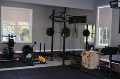 Garage gym concept