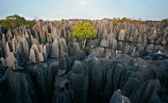 Zaujímavosti zo sveta - Fotoalbum - Krásy sveta - skalné mesto (Madagaskar)