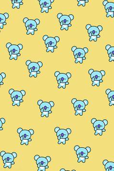#bts21 #wallpaperbt21 #koya #rm Kawaii Wallpaper, Wallpaper S, Bt 21, Paper Crafts, Diy Crafts, Cool, Army, Bts Wallpaper, Wallpapers