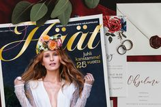 Uusi Häät-lehden numero on nyt Lehtipisteissä! Numerossa juhlimme 25-vuotta häähumussa yli 200 -sivun verran. Photo Booth, Crown, Wedding, Valentines Day Weddings, Photo Booths, Corona, Weddings, Crowns, Marriage