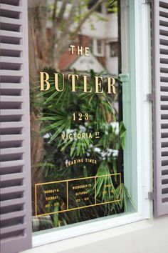 THE BUTLER POTTS POINT : Julia Jacque