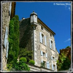 The village of Menerbes in Provence, France.  Image by Nerissa Wood