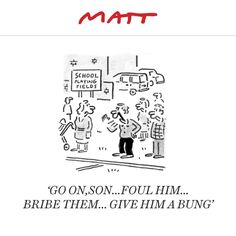 Matt cartoon, October 1