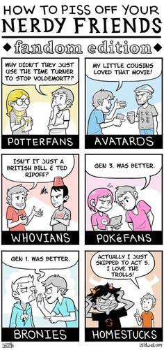 Como molestar a tus amigos Geeks