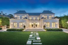 Timeless Luxury Mansion with Classical French Architecture - Melbourne, Australia