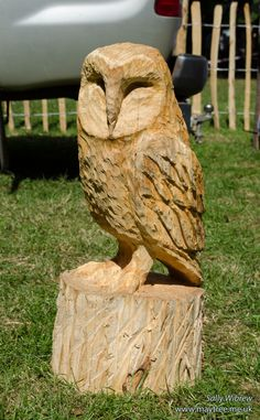 Solutions To Show That Pest Command Products And Services Are Useful For That Individuals Another Barn Owl Underway Diy Wooden Projects, Dremel Projects, Wood Crafts, Chainsaw Wood Carving, Wood Carving Art, Owl Symbolism, Wood Owls, Wood Carving Patterns, Beautiful Owl