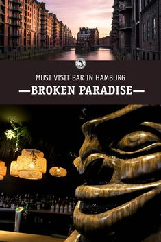 Bar Interior, Paradise, City, Hamburg, Cities, Heaven