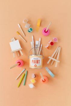 DIY: Retro Paint Can Favors (with printable)