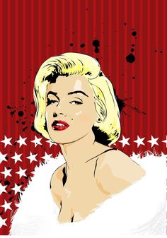Marilyn Monroe pop art. ❣Julianne McPeters❣ no pin limits