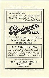 Rainier Brewing Company