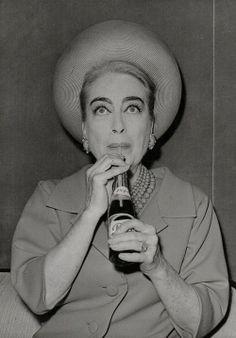 Joan Crawford Pepsi.