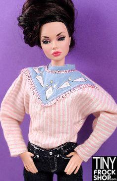 Barbie Metallic Triangle Top Yoke Top