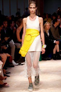 Céline Spring 2014 Ready-to-Wear Fashion Show - Marine Deleeuw (Elite)