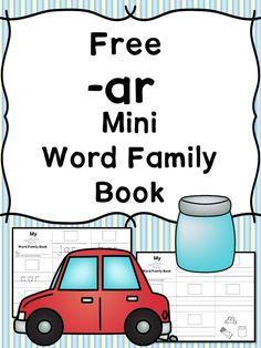 2 Free EB CVC Word Family Worksheets-Make a Minibook! | Pinterest ...