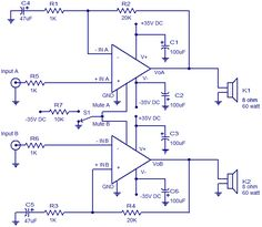 2X60 watt Amplifier using LM4780.