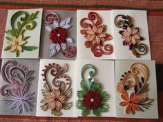 19 Quick Paper Quilling Ideas For Beginners – Quilling Techniques Quilling Comb, Paper Quilling Cards, Paper Quilling Flowers, Paper Quilling Patterns, Origami And Quilling, Neli Quilling, Quilled Paper Art, Quilling Jewelry, Quilling Craft