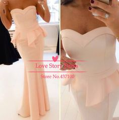 amazing pink coral long heart dress