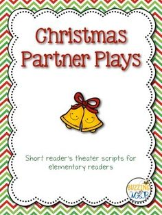 Fun way to teach fluency and reading practice! This set includes four different plays: Christmas Partner Plays! They're two-page reader's theaters for two readers. Great for Daily Five or daily fluency practice! Christmas Reader's Theater: Partner Plays for Two Readers