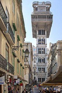Lisboa, Elevador de Santa Justa | Rainer Fritz
