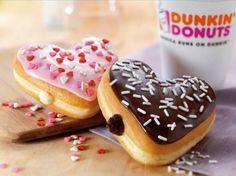 Yonomeaburro: Dunkin' Donuts San Valentín 2013: rosquillas en forma de corazón