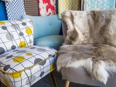 Meet the Trader - Lucy Mortimer, the owner of Galapagos Furniture Retro Furniture, Antique Furniture, Mid Century Furniture, Meet, Blanket, Antiques, Blog, Antiquities, Antique