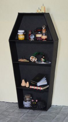 Hey, I found this really awesome Etsy listing at https://www.etsy.com/listing/193459974/miniature-vampiregothwitch-bookcase