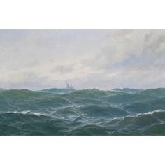 Shop for 'The Ocean' Oil on Canvas Art. Get free delivery at Overstock.com - Your Online Art Gallery Store! Get 5% in rewards with Club O!