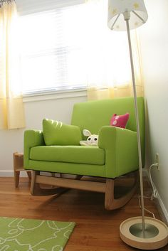 want this green chair