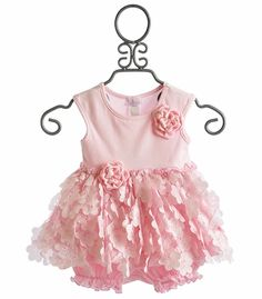 Cach Cach Little Girls Pink Flutter Swing Set Cute Outfits For Kids, Toddler Outfits, Toddler Fashion, Kids Fashion, Cute Dresses, Flower Girl Dresses, Baby Girl Boutique, Ginger Girls, Pink Girl