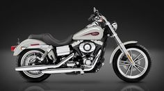 """Inspiration - This is an example of a HD """"Dyna"""" model. Similar to the """"Softail"""" model's being a long, Big V-Twin, but using classic styling similar to that of the """"Sportster"""" models with exposed rear springs and a more compact look. This is the staple Harley Davidson bike. (www.eaglerider.com, 2012)"""