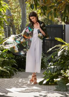 JADE silk scarf by Things are Electric, catching the sunlight