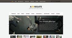 Aggregate v2.8 Elegant WordPress Theme