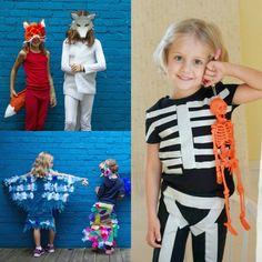 Halloween Activities for Kids - DIY Costumes