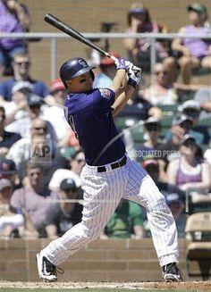 Mariners Rockies Spring Baseball Spring Training, Baseball Cards, Sports, Hs Sports, Spring Training Schedule, Sport