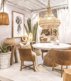 """Uniqwa Furniture on * St James Dining Table * Guatemala Dining Chairs- leather slip…"""" Dining Room Design, Interior Design Living Room, Dining Room Wall Art, Boho Living Room, Living Room Decor, Bedroom Decor, Leather Dining Chairs, Rattan Dining Chairs, Upholstered Chairs"""