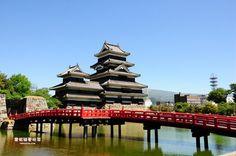 【日本.關東】松本.散步國寶松本城、四柱神社