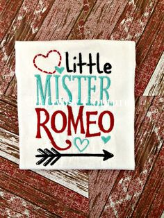 little mister romeo boutique boys valentines by lilgypsycouture