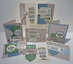 Here's my Step-it-Up! projects featuring the Hey, Man Paper Pumpkin kit.